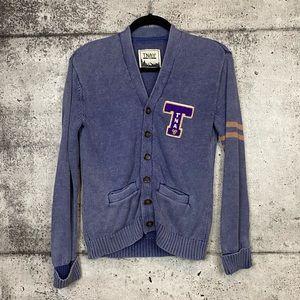 Aritzia // TNA // Varsity Style Cardigan Sweater